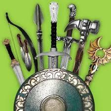 Armes et épées factices
